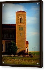 Acrylic Print featuring the photograph Kansas Architecture by Jeanette C Landstrom