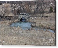 Acrylic Print featuring the photograph Kansas Bridge by Mark McReynolds