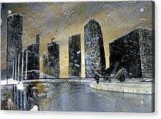 Kansas City Acrylic Print by Dee Presser