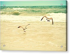 Karate Kid Pose Acrylic Print