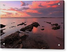 Karuha Sunset 2 Acrylic Print by Paul Svensen