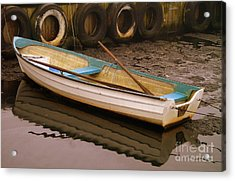 Kaseberga Harbour 2 Acrylic Print