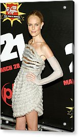 Kate Bosworth  Wearing A Chanel Couture Acrylic Print by Everett