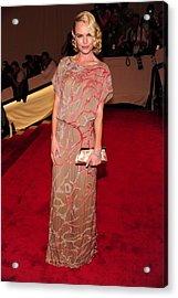 Kate Bosworth Wearing A Gown Acrylic Print by Everett
