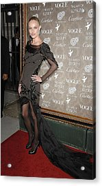 Kate Bosworth Wearing A Nina Ricci Gown Acrylic Print by Everett