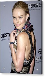 Kate Bosworth Wearing Etro At Arrivals Acrylic Print by Everett