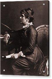 Kate Greenaway 1846-1901, A Leading Acrylic Print by Everett