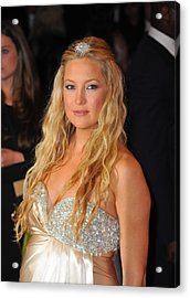 Kate Hudson At Arrivals For Alexander Acrylic Print by Everett
