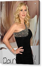 Kate Winslet Wearing A Balmain Dress Acrylic Print by Everett