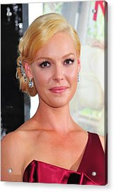 Katherine Heigl At Arrivals For Life As Acrylic Print by Everett