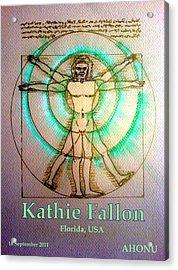 Kathie Fallon Acrylic Print