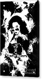 Katy Perry Acrylic Print by The DigArtisT