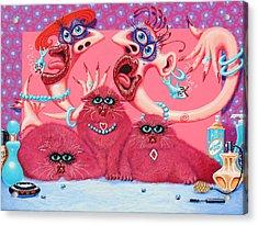 Katzendraag Acrylic Print by Baron Dixon