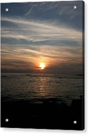 Acrylic Print featuring the photograph Kauai Sunset by Carol Sweetwood