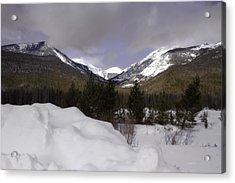 Kawuneeche Valley - Rocky Mountain National Park Acrylic Print by Ellen Heaverlo