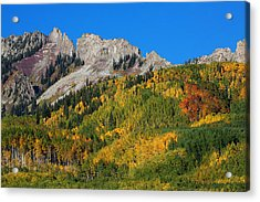 Acrylic Print featuring the photograph Kebler Pass by Jim Garrison