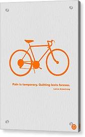 Keep The Wheels Turning 2 Acrylic Print by Naxart Studio