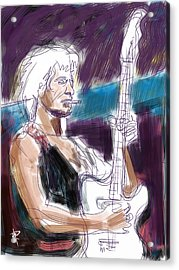 Keith Acrylic Print by Russell Pierce