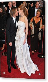 Keith Urban, Nicole Kidman At Arrivals Acrylic Print by Everett