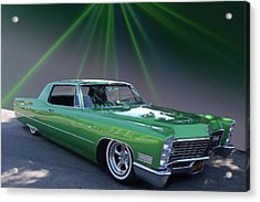 Acrylic Print featuring the photograph Kelly Caddy by Bill Dutting