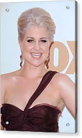 Kelly Osbourne At Arrivals For The 63rd Acrylic Print by Everett