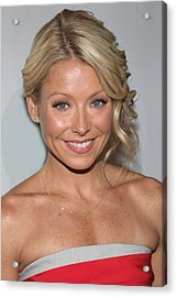Kelly Ripa At Arrivals For The Point Acrylic Print by Everett