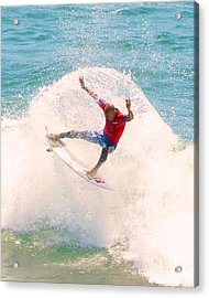 Kelly Slater Us Open Of Surfing 2012   2 Acrylic Print by Jason Waugh