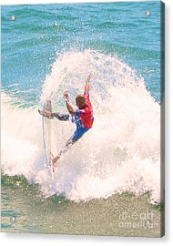 Kelly Slater Us Open Of Surfing 2012    5 Acrylic Print by Jason Waugh