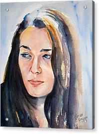 Kelsey Acrylic Print by Brian Degnon