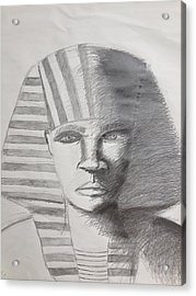 Kemetic Man  Acrylic Print by Brandon King