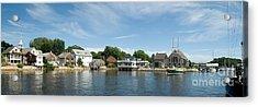 Kennebunkport Maine Acrylic Print by Jim Chamberlain