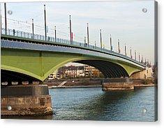 Kennedy Bridge Acrylic Print by Design Windmill