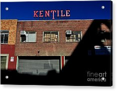 Kentile Factory Acrylic Print