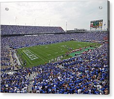 Kentucky Commonwealth Stadium Acrylic Print by University of Kentucky