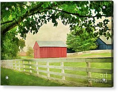Kentucky Country Side Acrylic Print by Darren Fisher