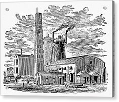 Kentucky: Factory, 1876 Acrylic Print by Granger