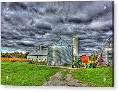 Kentucky Farm 3 Acrylic Print by Barry Jones