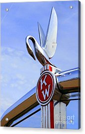 Kenworth Insignia And Swan Acrylic Print