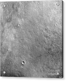 Kepler Crater On The Surface Of Mars Acrylic Print by Stocktrek Images