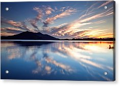 Kerry Reflections Acrylic Print by Brendan O Neill