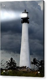 Key Biscayne Lighthouse Acrylic Print
