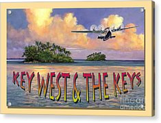 Key West Air Force Acrylic Print