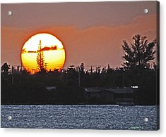Key West Sunset Acrylic Print
