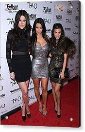 Khloe Kardashian, Kim Kardashian Acrylic Print by Everett