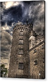 Kilkenny Castle Acrylic Print by Barry R Jones Jr