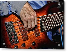 Killer Bass Acrylic Print by Kim Wilson