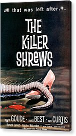 Killer Shrews, The, 1959 Acrylic Print by Everett