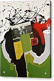 Kilter Acrylic Print by Cliff Spohn