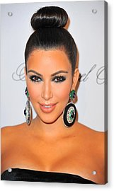 Kim Kardashian At Arrivals For The Acrylic Print by Everett
