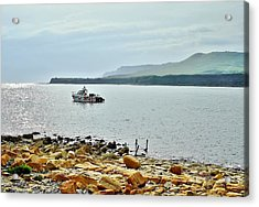 Acrylic Print featuring the photograph Kimmeridge 1 by Katy Mei
